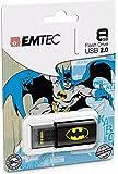 EMTEC Click 8 GB USB 2.0 Flash Drive, Batman