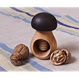 Wooden Nutcracker in the Shape of a Mushroom Eco-friendly