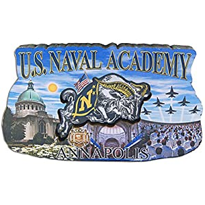 Magnet Wood Montage U.S. Naval Academy
