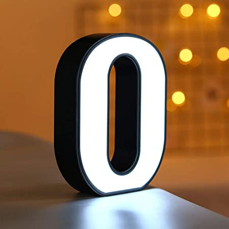 Takefuns - Cartel de luces LED con 26 letras del alfabeto ...