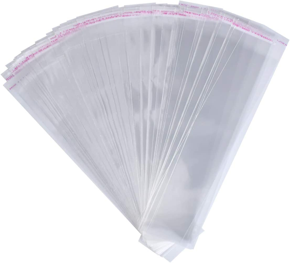 24 x 36 Flat 4 Mil Poly Bags Clear 200//Case