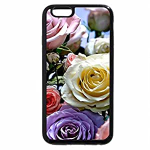 iPhone 6S / iPhone 6 Case (Black) COLOURS of ROSES