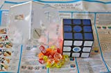 GAN Gans 356 Air (Master) Black with GAN Bag and Cube Stand New Blue Core 3x3x3