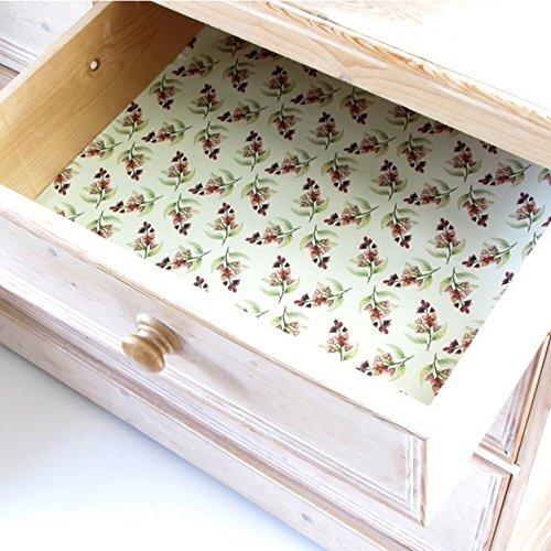 Sandalwood Scented Drawer Liners by The Master Herbalist - Five Liners by Master Herbalist