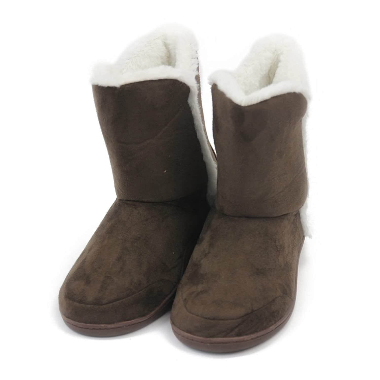 Women's Indoor High Top Slipper Boots