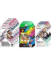 Fujifilm 600018605 Instax Mini Film, Specialty Pack, Multicolor (80 Exposures)