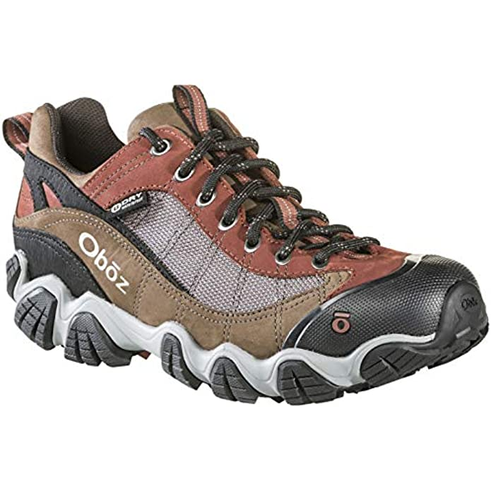 Oboz Firebrand II B-Dry Hiking Shoe - Men's Earth 10.5 Wide