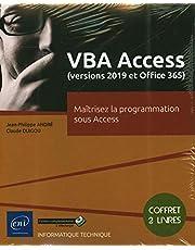 VBA Access (versions 2019 et Office 365) : Maîtrisez la programm