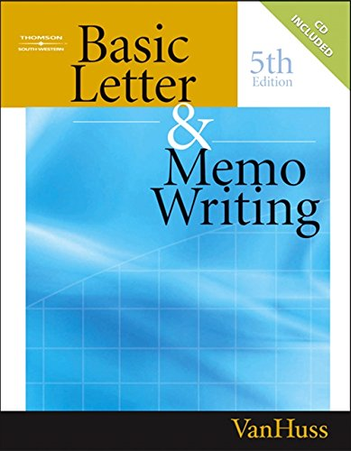Basic Letter and Memo Writing (Title - Title Letters