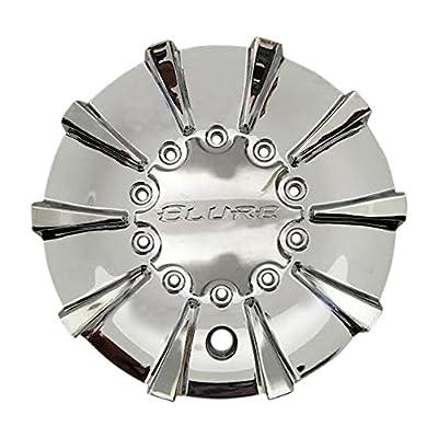 Elure Wheels CS337-D2P SJ712-04 Chrome Wheel Center Cap: Automotive