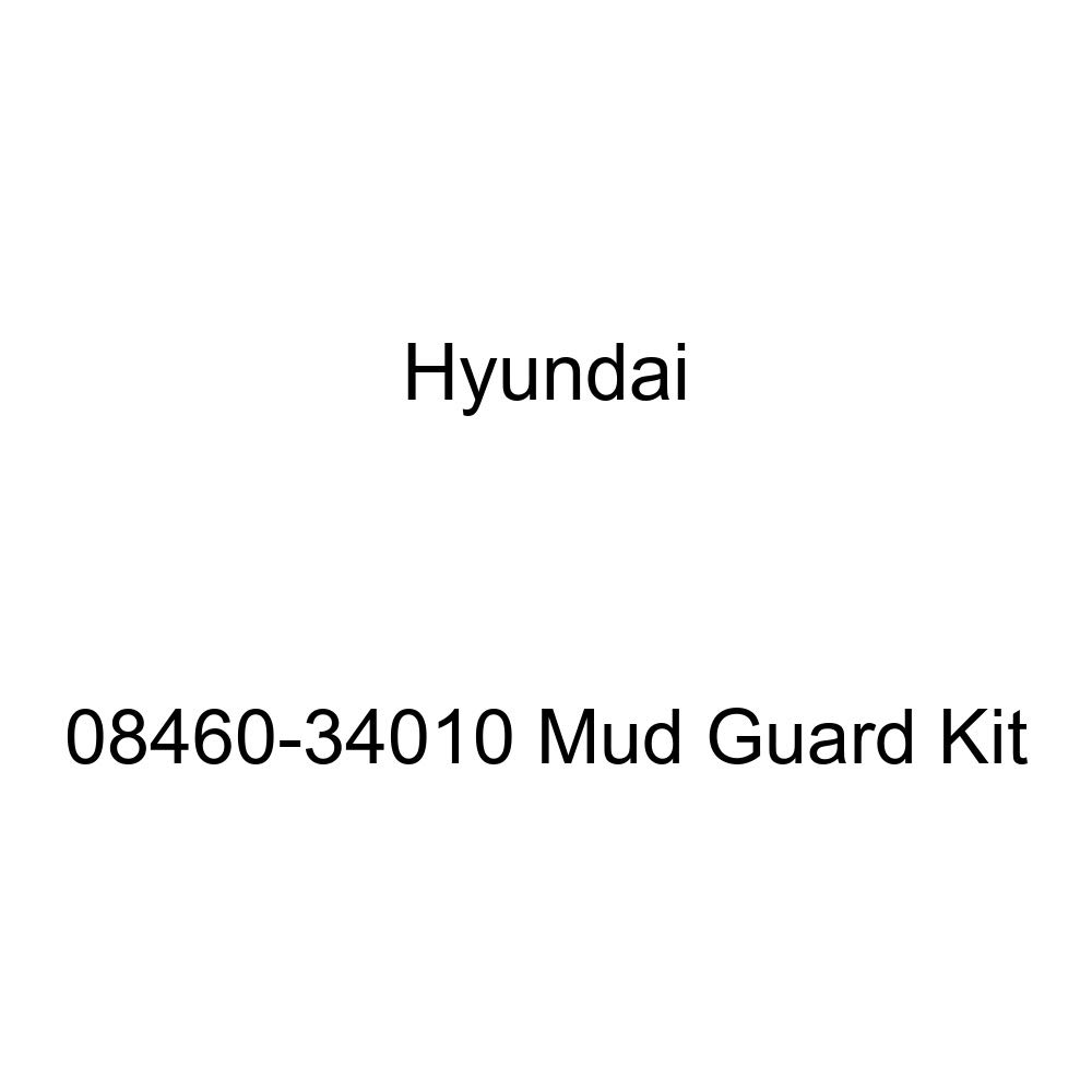 HYUNDAI Genuine 08460-34010 Mud Guard Kit