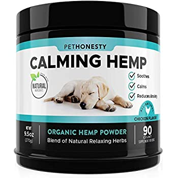 Amazon.com : Hemp Calming Treats for Dogs with Separation
