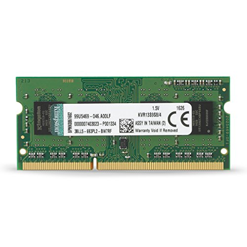 Kingston-Value-RAM-4GB-1333MHz-PC3-10600-DDR3-Non-ECC-CL9-SODIMM-SR-X8-Notebook-Memory-KVR13S9S84
