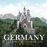 Germany 7 x 7 Mini Wall Calendar 2019: 16 Month Calendar