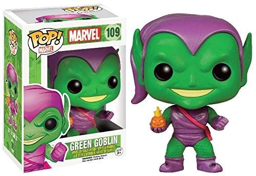 Funko Pop Marvel: Green Goblin Collectible Figure, Multicolor