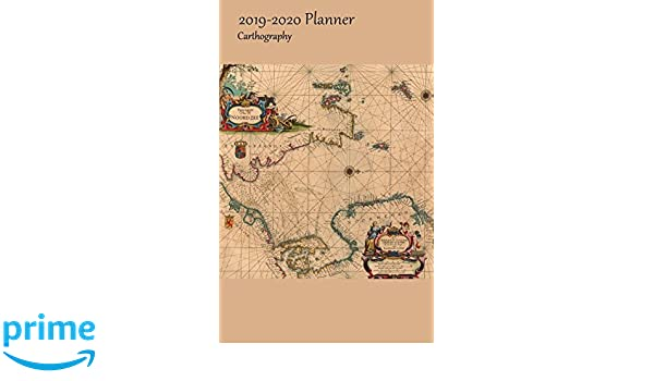 2019-2020 Planner Carthography: Small Academic 2019-20 ...