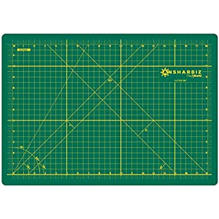 Cutting Mat for Sewing & Crafts - 12x18inches, Sturdy Rotary Cutting Mat w/ Self Healing, Non Slip Surface - Perfect Craft, Fabric Cutting Board for Quilting & Sewing - Large Double Sided Mats