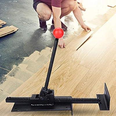 AYNEFY Floor Jack, Professional Hardwood Floor Tool Steel Core Flooring Jack Installing Straighten Plank Fix Tool