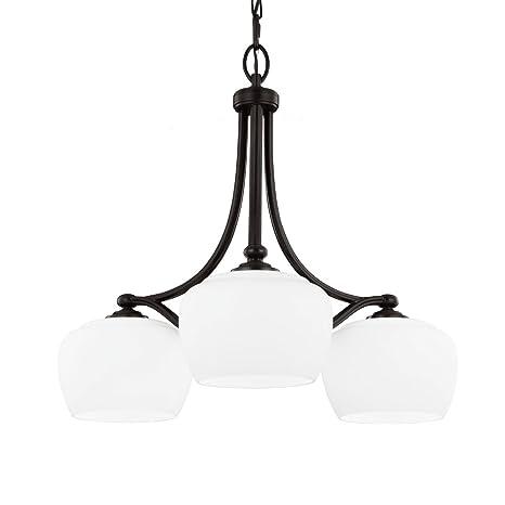 Amazon.com: Feiss f2964/3 Vintner 3 luz 1 Tier – Lámpara de ...