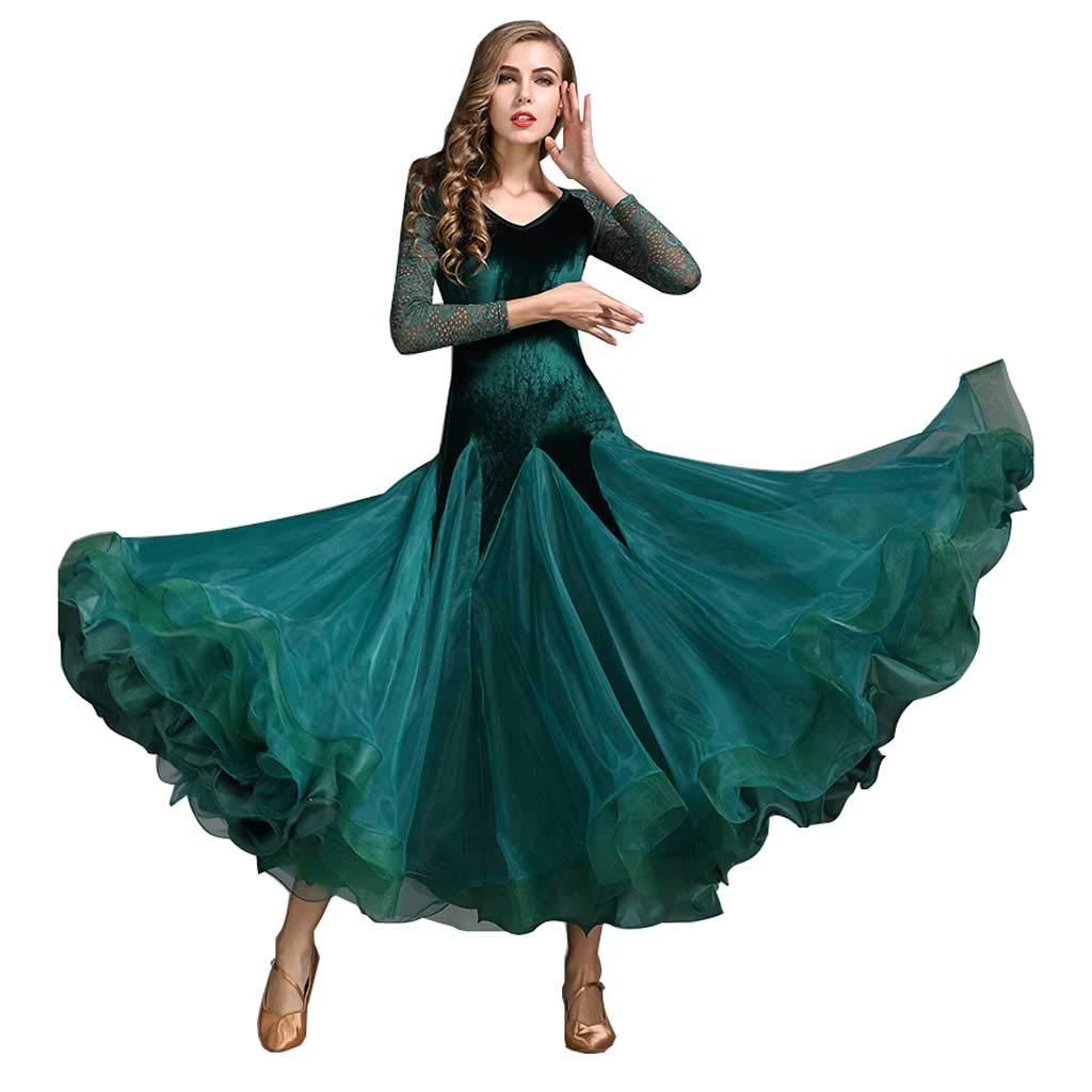最大80%オフ! 大人のモダンダンスドレス、レディースドレス、ビッグマッチスーツ B07H9XDKPJ B07H9XDKPJ L l ダークグリーン ダークグリーン l L L l, 要点濃縮リスニング:ca4f87ea --- womaniyya.com