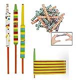 Fun Express Chinese Finger Traps & Paper YoYos 84 Piece Bundle