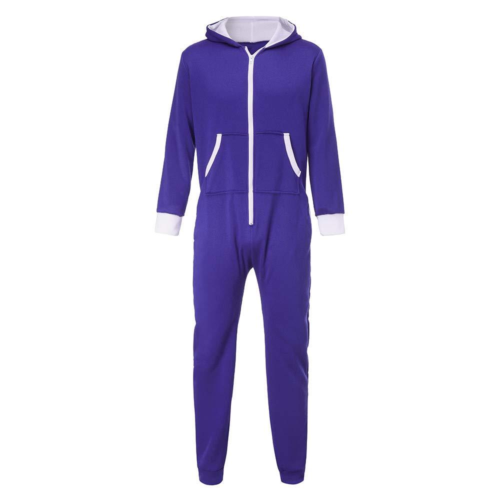 Yvelands Trajes de liquidación de Trajes, Mono de los Hombres Unisex de una Pieza sin Pijama de Pijama Traysuit Blusa Outwear Coat: Amazon.es: Ropa y ...