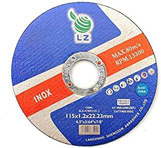Cutting Discs Metal 75mm x 1mm x 9.5mm(3')– Set of 25, Air tool stainless steel cut off discs