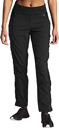 The North Face Women's On The Go Mid Rise Pant, TNF Black, XX-Large Regular