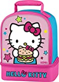 Thermos Dual Compartment Lunch Kit, Hello Kitty (Colors May Vary)