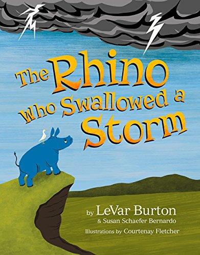 好书推荐!《The Rhino Who Swallowed a Storm》借绘本的力量 和孩子聊聊灾难