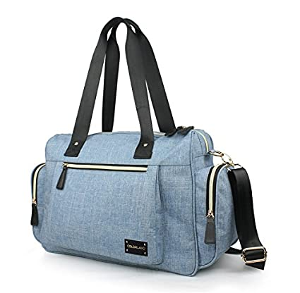 Oren Empower Colorland Waterproof Polyester Shoulder Bag with Changing Pad (Blue)