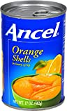 Ancel Orange Shells In Heavy Syrup, 17 Ounce (Pack of 24)
