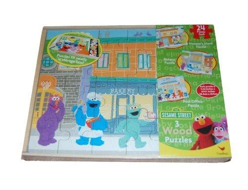 Sesame Street Puzzles Storage Cardinal
