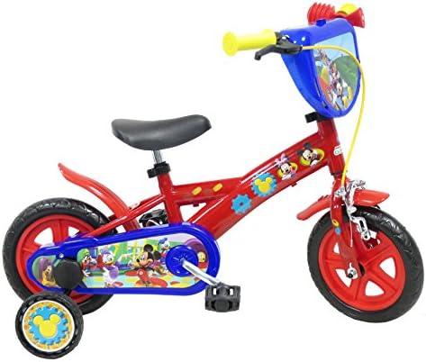 Disney 13193 Mickey Mouse de Bicicletas con Freno, de 10 Pulgadas ...
