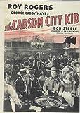 Carson City Kid western DVD Roy Rogers, George 'Gabby' Hayes, Bob Steele