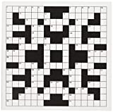 3dRose Image of Black and White Crossword Puzzle Greeting Cards, Set of 6 (gc_174160_1)