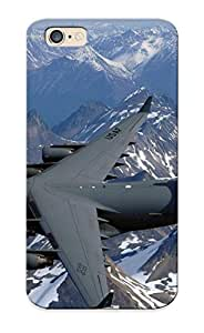 New Style Underbiding Hard Case Cover For Iphone 6- Boeing C17a Globemasteriii Airplane Jet Military Aicrafts