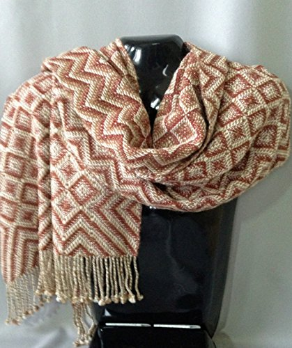 Handwoven Alpaca Shawl by Whirlwind Designs