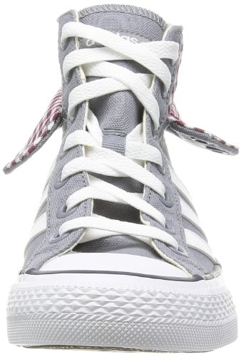 adidas BBNeo 3 Stripes CV MID Schuhe Damen Sneaker Laufschuhe Grau F39073, Größenauswahl:37 1/3