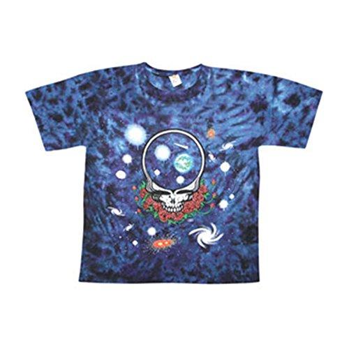 Grateful Dead Men's Space Your Face Tie Dye T-shirt Medium Multi]()