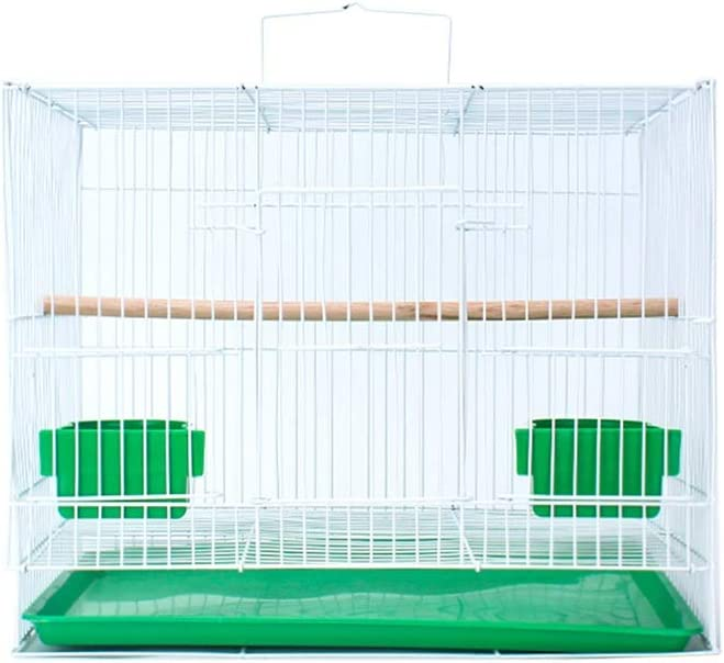 Z-W-dong Interior de la jaula del animal doméstico, erizo Birdcage paloma jaula jaula for conejos Jaula conejillo de Indias de la jaula de cría multiuso Jaula con accesorios Jaulas para pájaros