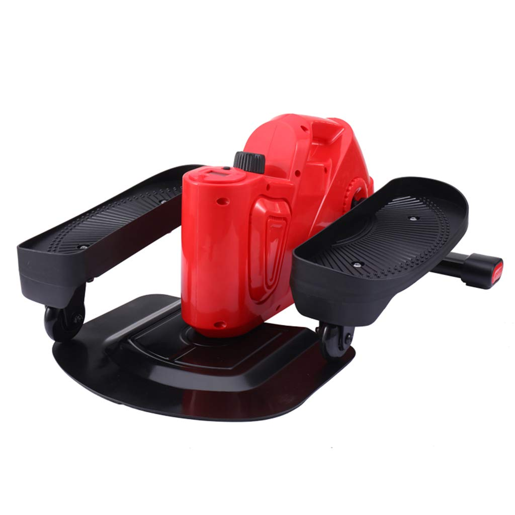 フィットネスマシン ステッパーホーム減量マシンスキニーフットペダル小型フィットネスステッピングマシン登山機負荷120kgインテリジェントカウント (Color : Red, Size : 60*43*29cm) 60*43*29cm Red B07KBGFLLN