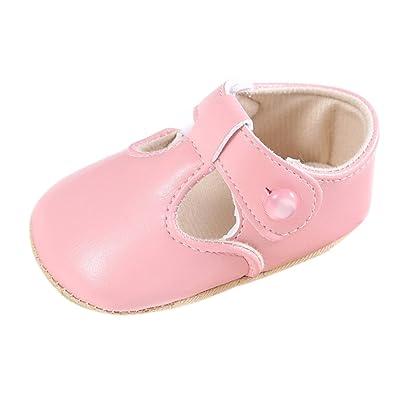 a48d1b26 Fire Frog Newborn Baby Infant Toddler Girls Princess Shoes Footwear Kids  Prewalkers Pink 0-6