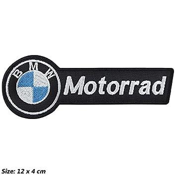 Patch, Aufnäher bestickt Bügelbild,, BMW Motorrad V6,,