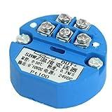 eDealMax PT100 Transmisor de temperatura del Sensor 0-50C de Salida de 0-10 V DC Fuente de 24VDC