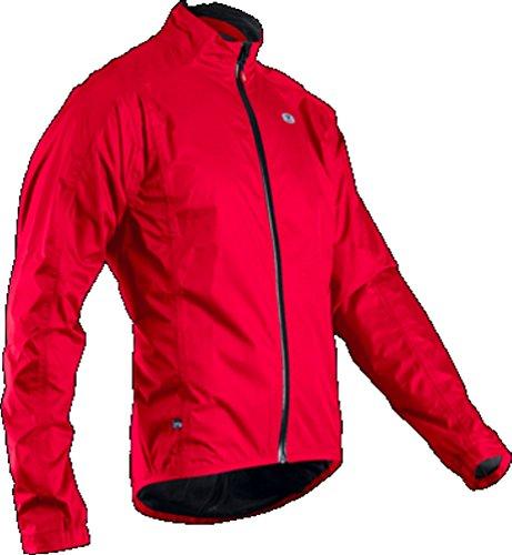 SUGOi Men's Zap Bike Jacket, Chili Red, X-Large - Jacket Bike Zap