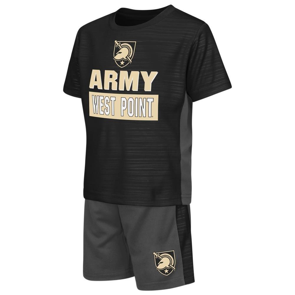 【激安大特価!】  Army Black B06WLMXVCC Black 3T Knights幼児用Tシャツと短パン2個セット 3T B06WLMXVCC, オオキマチ:c017f3d7 --- a0267596.xsph.ru