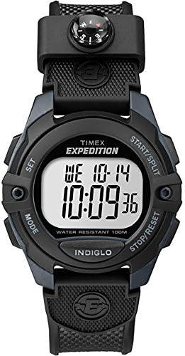 Timex Expedition Chrono Alarm Timer Watch – Black TW4B07700JV
