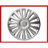 NISSAN MICRA HATCHBACK Car Wheel Trims Hub Caps Plastic Covers Titan 14 Silver
