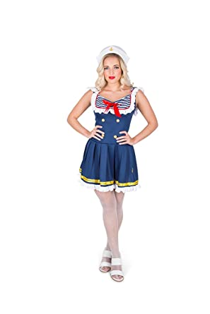 Karnival Womenu0027s Sassy Sailor Costume Set   Perfect For Halloween, Costume  Party Accessory. Trick